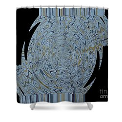 Antique Elegance Shower Curtain by Wayne Cantrell