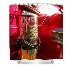 Antique Fire Extinguisher Shower Curtain