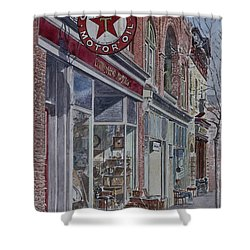Antique Shop Beacon New York Shower Curtain by Anthony Butera