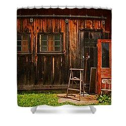 Antiques Shower Curtain by Michael Porchik
