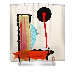 Ao - Gyo Shower Curtain by Roberto Prusso