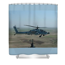 Apache Gray Shower Curtain