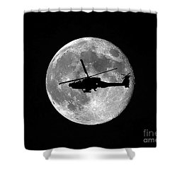 Apache Moon Shower Curtain