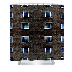 Apartments In Berlin Shower Curtain