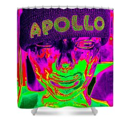 Apollo Abstract Shower Curtain