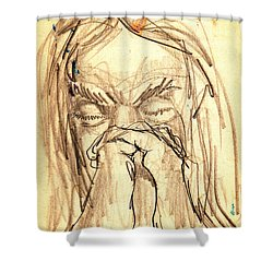 Apostle's Prayers Shower Curtain by Seth Weaver