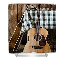 Appalachian Music Shower Curtain