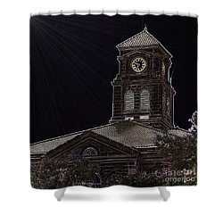 Appanoose County Courthouse Shower Curtain