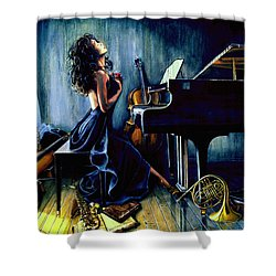 Appassionato Shower Curtain