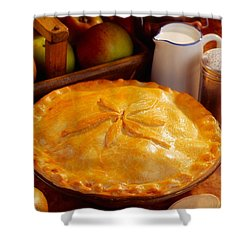 Apple Pie Shower Curtain by The Irish Image Collection