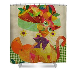 Apples And Jackie Shower Curtain
