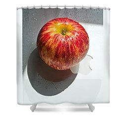Apples Shower Curtain by Daniel Furon