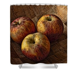 Apples Shower Curtain by Steve Purnell