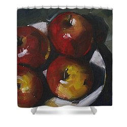 Appleshine Shower Curtain