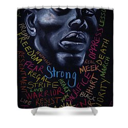 Appreciate Your Past- Look To The Future Shower Curtain