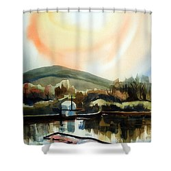 Approaching Dusk I Shower Curtain by Kip DeVore
