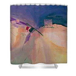 Approaching Storm Shower Curtain by Paulette B Wright