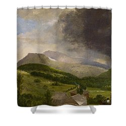 Approaching Storm  White Mountains Shower Curtain by Alvan Fisher