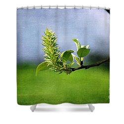April Blossom Shower Curtain by Randi Grace Nilsberg