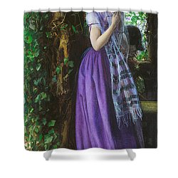 April Love Shower Curtain by Philip Ralley