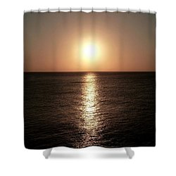 Shower Curtain featuring the photograph April Sunset by Amar Sheow