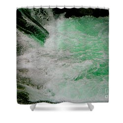 Aqua Falls Shower Curtain