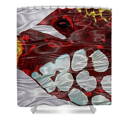 Aquarium 3 Shower Curtain by Jack Zulli