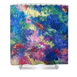 Aquarium Shower Curtain by Megan Walsh