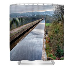 Aqueduct Shower Curtain by Adrian Evans