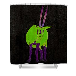 Arabian Oryx Shower Curtain