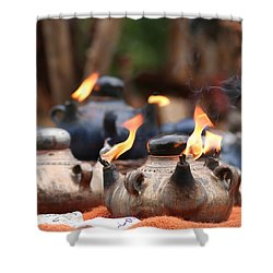 Arabic Oil Lamp Shower Curtain