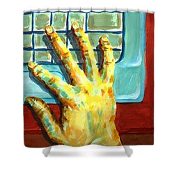 Arbitrary Colors Shower Curtain by Stacy C Bottoms
