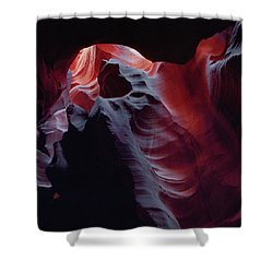 Arc Light-sq Shower Curtain