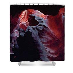 Arc Light-v Shower Curtain