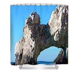 Arch At Land's End Shower Curtain