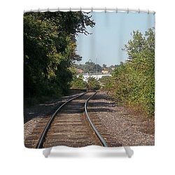 Shower Curtain featuring the photograph Arch In The Distance by Kelly Awad