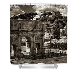 Arch Of Contantine Shower Curtain