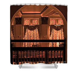 Arch Of Light In Near Night Shower Curtain