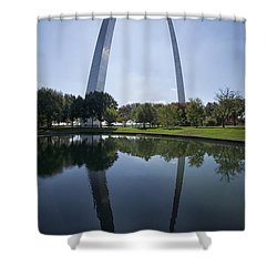 Arch Reflection Shower Curtain