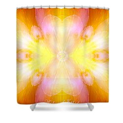 Archangel Jophiel Shower Curtain