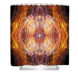 Archangel Uriel Shower Curtain