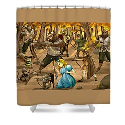 Archery In Oxboar Shower Curtain