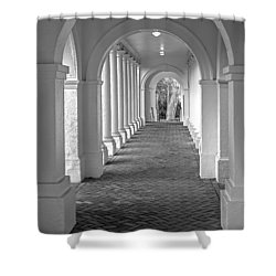 Arches At The Rotunda At University Of Va 2 Shower Curtain