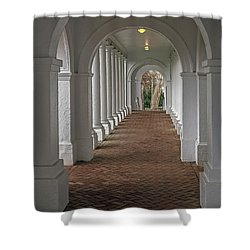 Arches At The Rotunda At University Of Va Shower Curtain