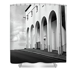 Arches Shower Curtain by Brian Roscorla