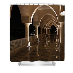 Arches In Abu Dhabi Shower Curtain