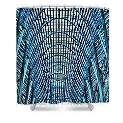 Arches In Brookefield Place Shower Curtain by Joe  Ng