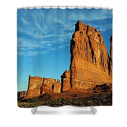 Shower Curtain featuring the photograph Arches National Park 47 by Jeff Brunton