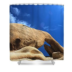 Arching So Elegantly Shower Curtain by Laurie Search