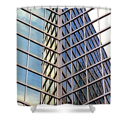 Architectural Details Shower Curtain